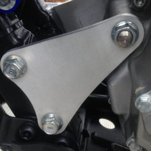 WALSH YFZ450R Motor mounts (installed)