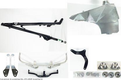 Conversion & Lowering kits, KFX-450R lowering kit