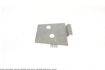 Frame skid plates, WALSH CRF250R 2010-2015, CRF450R 2009-2016, engine