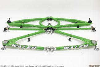 KAWASAKI KFX-450R FRONT ARMS, Cross Country (green)