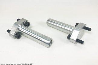 "WALSH Frame foot peg studs, TRX450R, 1.125"""