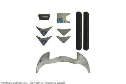 WALSH Frame modification kits, 450SXF, 505SXF, 450XC, 525XC gusset kit