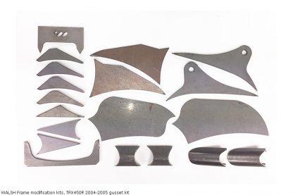 WALSH Frame modification kits, TRX450R 2004-2005 gusset kit