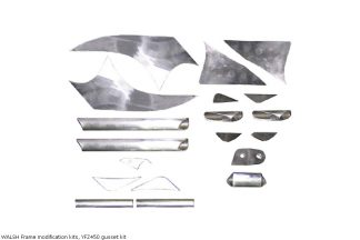 WALSH Frame modification kits, YFZ450 gusset kit