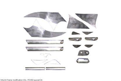 WALSH Frame modification kits, YFZ450 gusset kit
