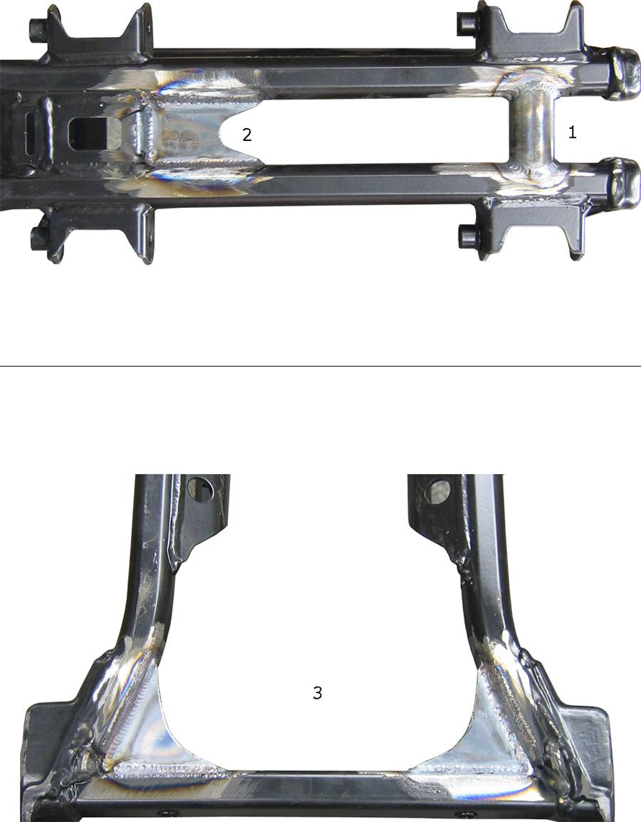 WALSH KTM Gusset kit (2)