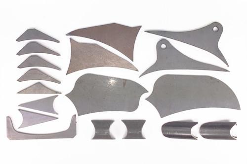 WALSH TRX450R Gusset kit 2006-2014