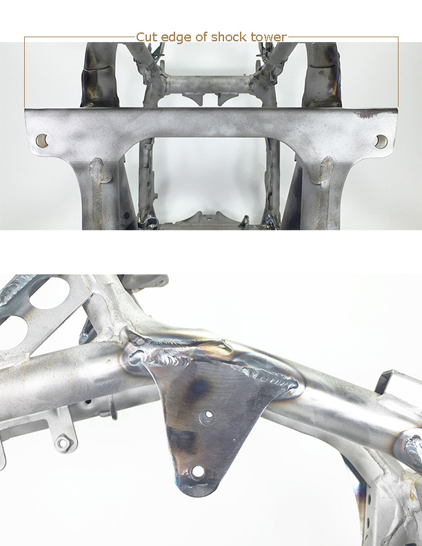 WALSH TRX450R Lowering kit (installed) (1)