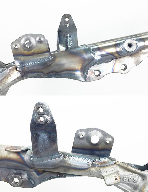 WALSH TRX450R Lowering kit (installed) (3)
