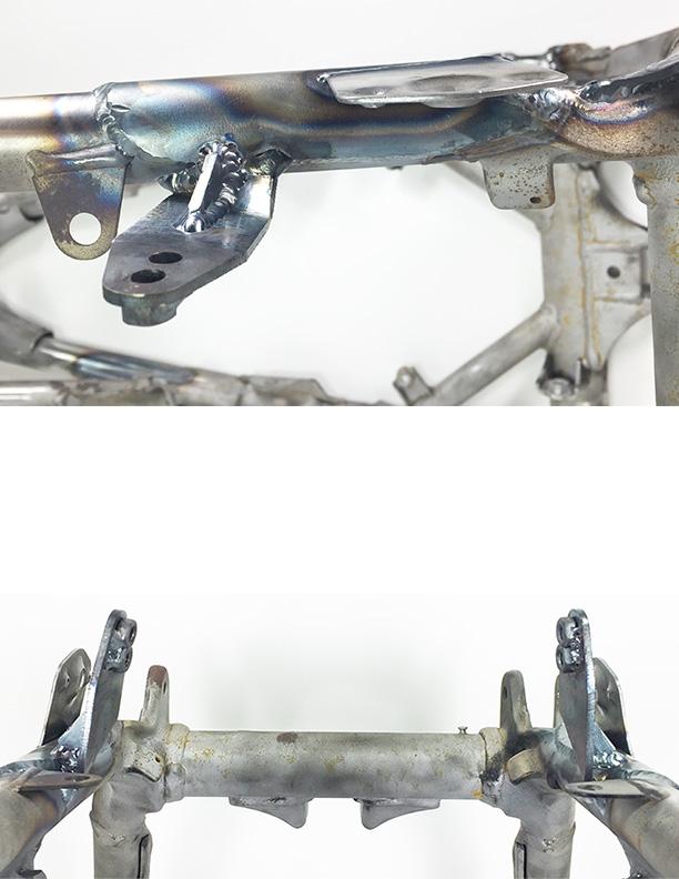 WALSH TRX450R Lowering kit (installed) (4)